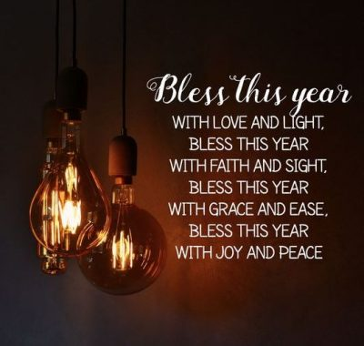 New Year's Blessing Quotes
