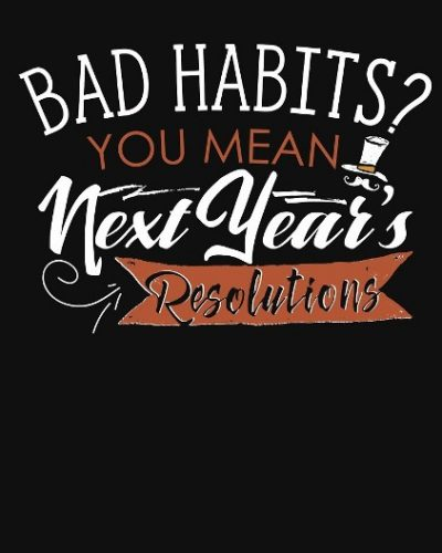 New Year's Eve Resolution Funny