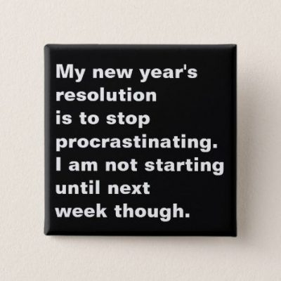 New Year's Funny Resolution