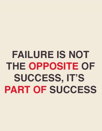 Overcoming fear of Failure Images