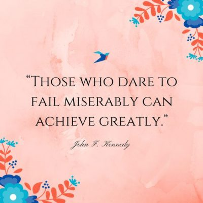 Positive Failing Quotes