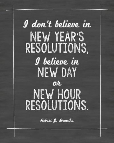 Quotes For New Year Resolution