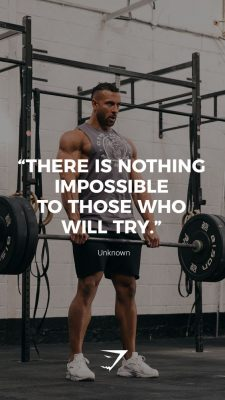 Quotes and Sayings on Gym