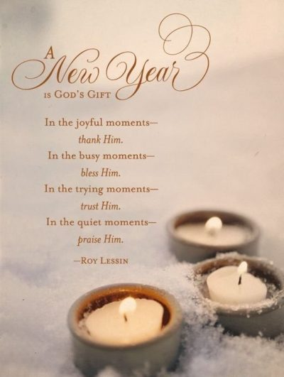 Religious New Year Message