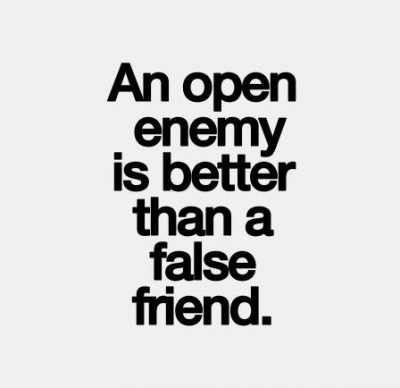 Remarkable Quotes On Fake Friends