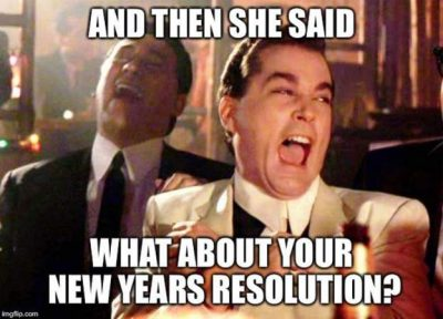 Resolution for New Year Funny Pic