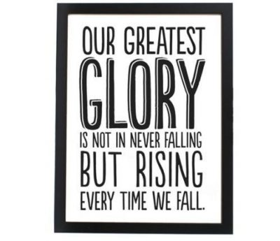 Rising From Failure Quotes