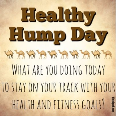 Hump day workout meme