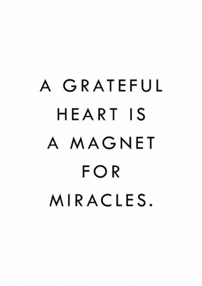 A Grateful Heart Quotes