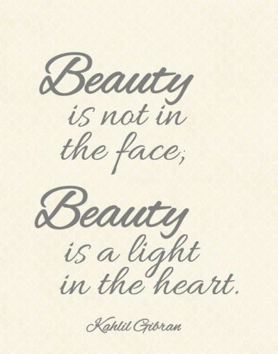 Beauty & Heart Quotes
