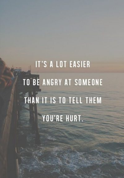 Being Hurt & Anger Quotes