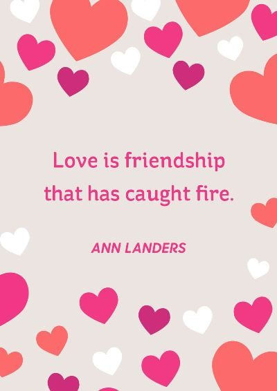 Cute Love & Friendship Quotes