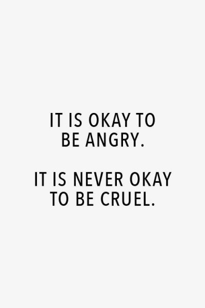 Expressing Anger Quotes
