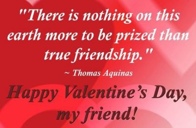 Famous Valentine Day's Quotes For Friends