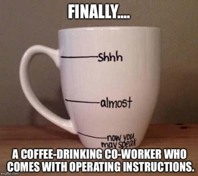 Good Morning Coffee Meme