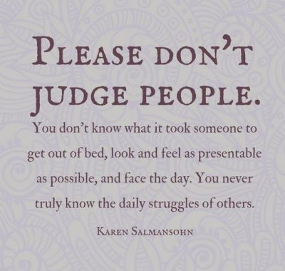 Judging People Quotes Photos