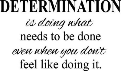 Motivational Determined Quotes