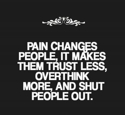 Overcoming Pain In Relationship Quote