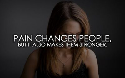 Pain Results In Strength Quotes