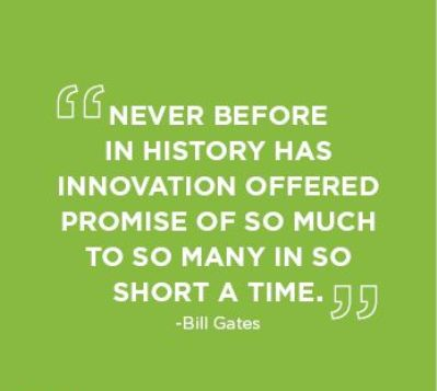 Quotation On Innovation By Bill Gates