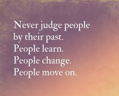 Quotes About Judging People By Their Past