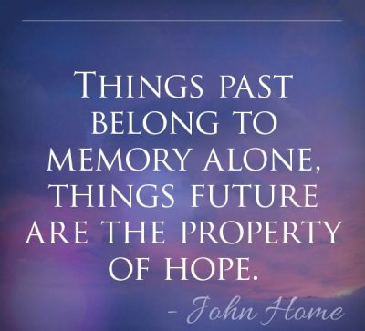 Quotes About Past, Hope & Future