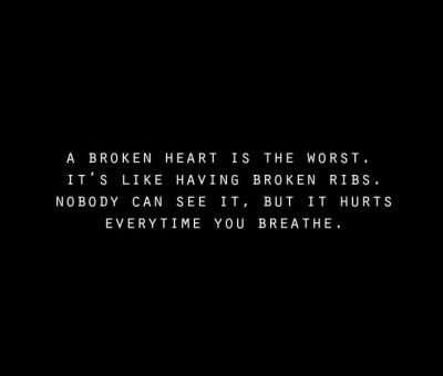Sad Quotes About Broken Heart