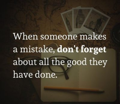 Sayings About Mistakes In Relationship