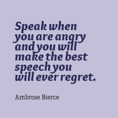 Showing Anger In Words Quotes