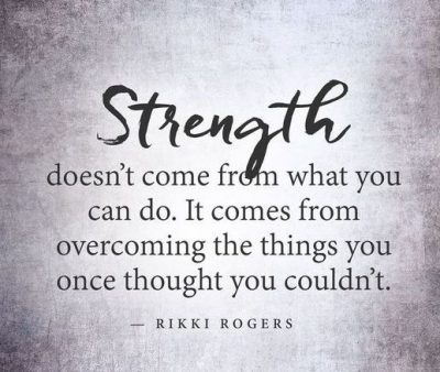 Strength Quotes About Overcoming Pain