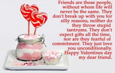 Valentine Day's Message For Friends