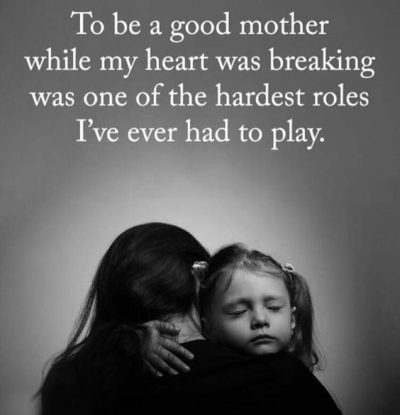 Being A Strong Mother