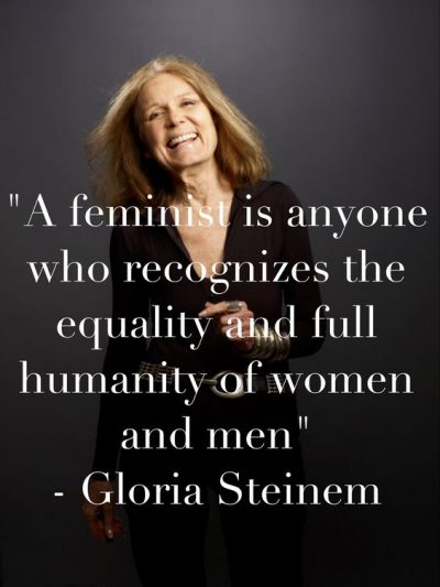 Being Feminist Quotes