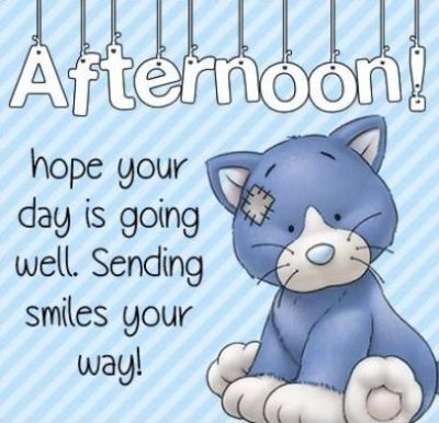 Cute Good Afternoon Wishes