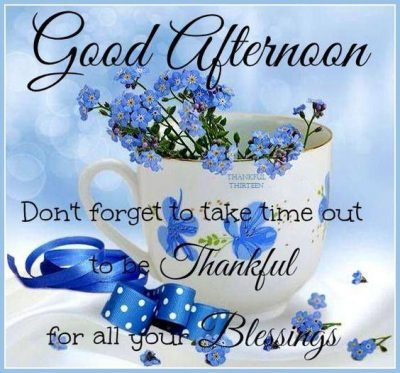 Good Afternoon Blessings Images