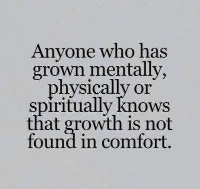 Growth Is Not Found In Comforts Quotes