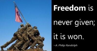 Inspirational Quotes Freedom Fighters