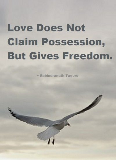 Love Quotes About Freedom
