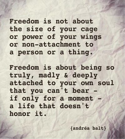Powerful Freedom Quotes