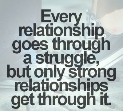 Quotes About Struggles In Relationship