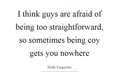 Quotes For Straight Forward Boy