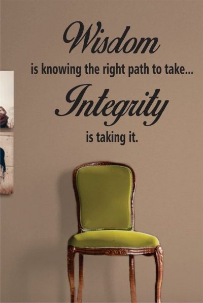 Sayings On Integrity For Work