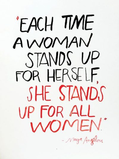 Stand Up For Women Quotes