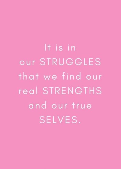 Struggle Quotation