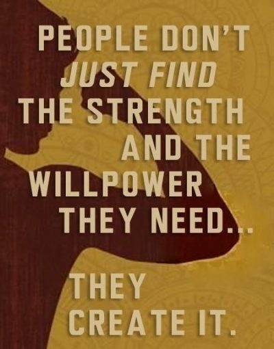 Willpower Quotations