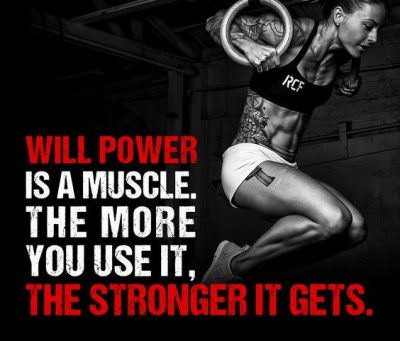 Willpower Quotes For Workout