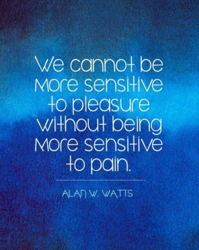 Deep Quotes For Being Too Sensitive