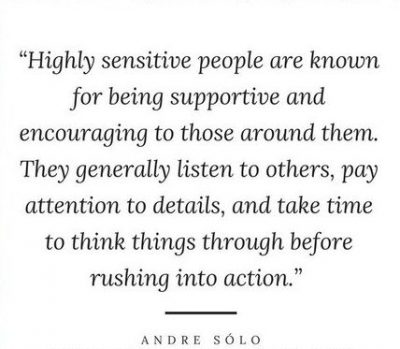 Motivational Quotes About Being Sensitive