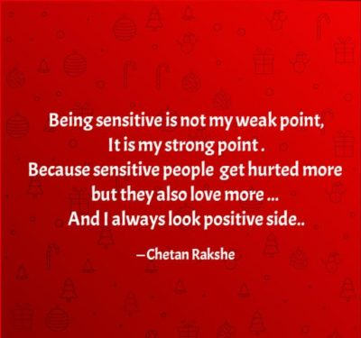 Positive Quotes About Being Sensitive