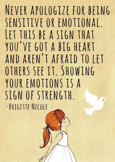 Quotes About Being Sensitive